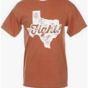Texas longhorns tee